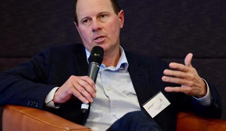 Boundary Bend chief executive Rob McGavin encourages Geelong entrepreneurs to go global