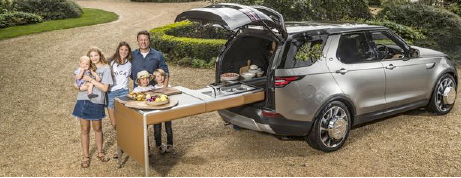 Jamie Oliver has KITCHEN built in his bespoke Land Rover