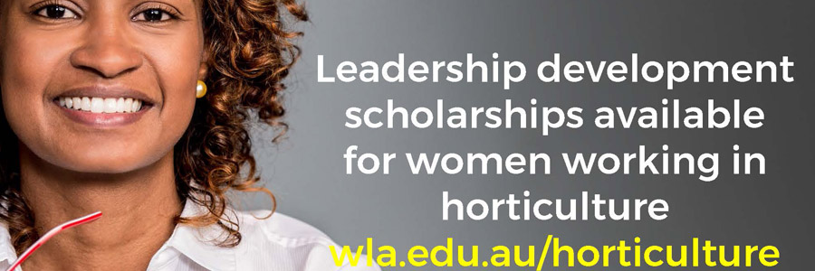 Women in Horticulture: more than $135,000 in leadership development funding available