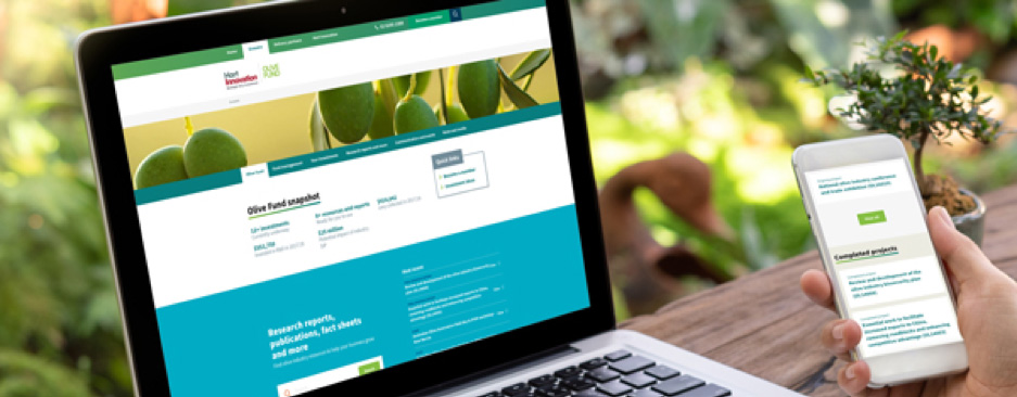 Hort Innovation launches new easy reference website