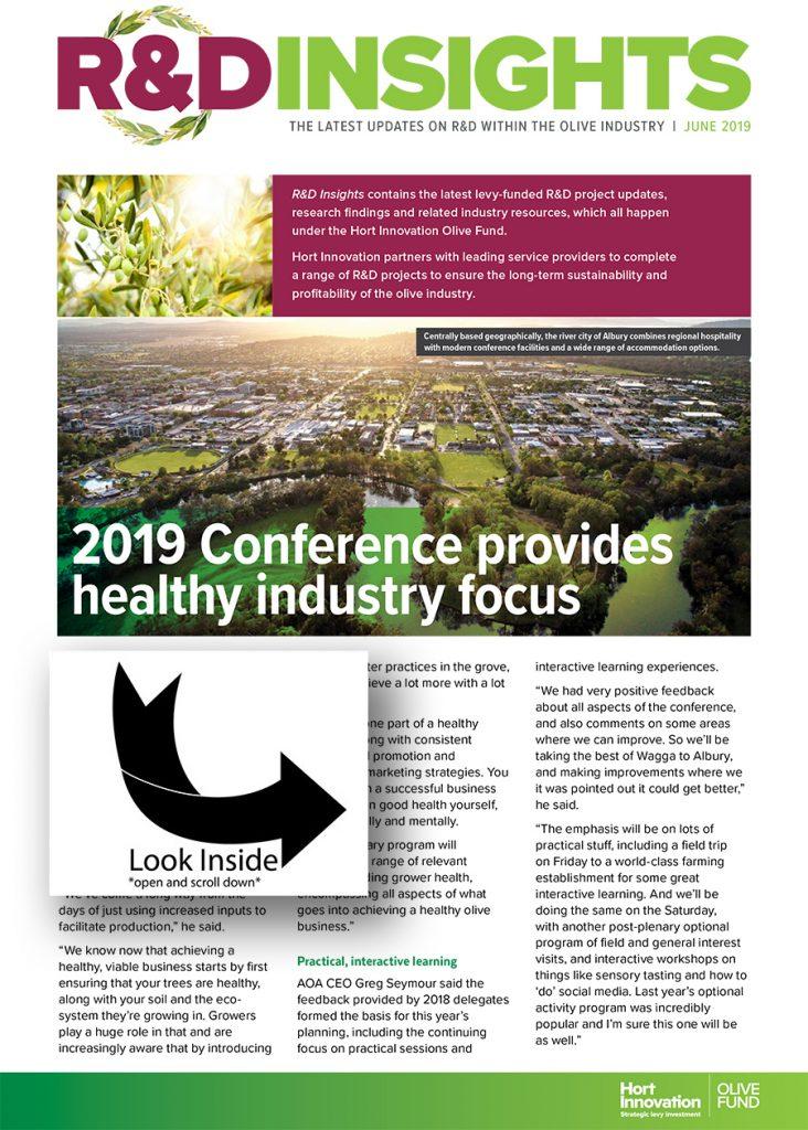 R & D Insights June 2019 | Olivebiz