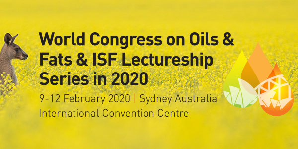 Fats and oils in focus as AOA co-hosts 2020 World Congress