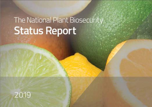 Annual overview of national plant biosecurity released